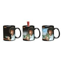 Bob Ross Heat Changing Mug