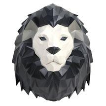 3-D Origami Animal Wall Art - Lion