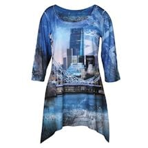 Majestic Skylines Tunics - London