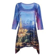 Majestic Skylines Tunics - Paris