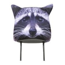 Animal Headrest Covers - Raccoon