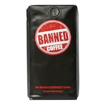 Banned Coffee The World's Strongest Coffee