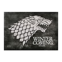 Winter is Coming Stark Canvas