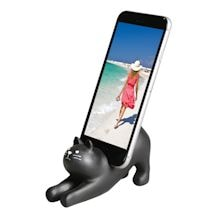 Black Cat Phone Holder