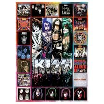 Kiss Album Covers 1000-Pc. Puzzle