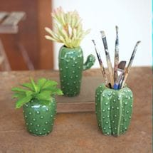 Cactus Vase Set Of 3