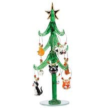 Cat Charms With Tree