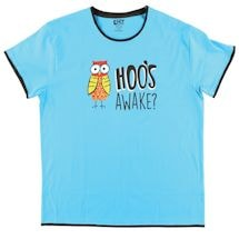 Hoo's Awake Owl Sleep Tee