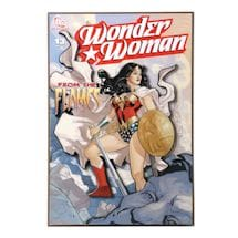 Wonder Woman 3-D Plaque