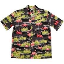 Flamingo Gator Camp Shirt