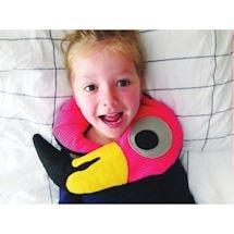 Huggable Pink Flamingo Microwaveable Neck Pillow