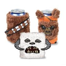 Set Of 3 Fuzzy Star Wars Can Coolers