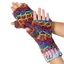 Recycled Silk Knit Accessories - Hand-Warmers