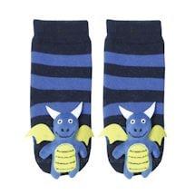 Children's Toe-Rattle Socks - Dragon