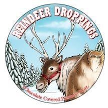Reindeer Droppings Tin