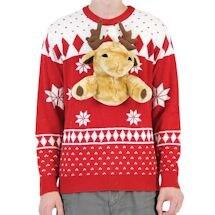Plush Moose Fair Isle Winter Sweater