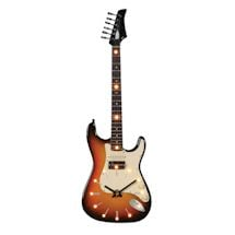 Led Lighted Guitar Clocks- Electric Guitars