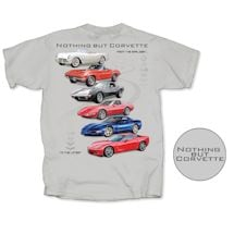 Corvette Through The Years Shirts