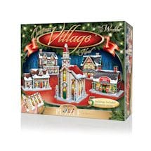 Christmas Village 3D Puzzle Set