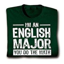 Funny Major Shirts - English