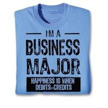 Funny Major Shirts - Business