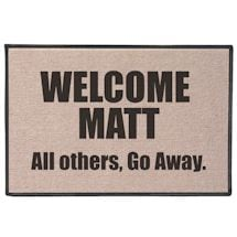 Welcome Matt, all others go away. Doormat