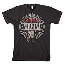 Nirvana 1988 Guitar Stamp T-Shirt