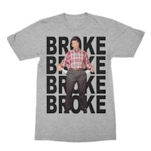 Broke Al tee