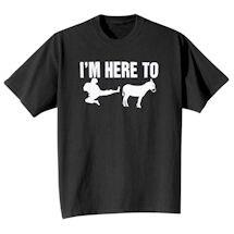 Here To Ninja Donkey T-Shirt