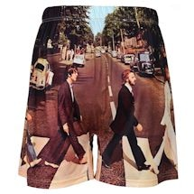 Sublimated Beatles Boxer Shorts