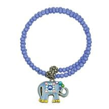 Beaded Elephant Bangle Bracelets