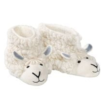Wool & Felt Sheep Slippers