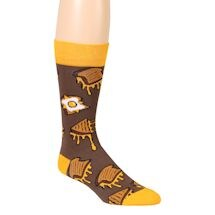 Dorm Room Delicacies Socks - Grilled Cheese