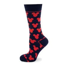 Mickey Mouse Silhouette Crew sock