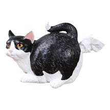 Cat Butt Tissue Holders - Black & White