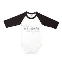 Babies With Attitude Snapsuits - All Nighter