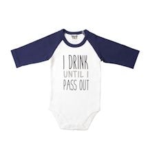 Babies With Attitude Snapsuits - Pass Out
