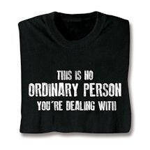 Ordinary Person Shirts