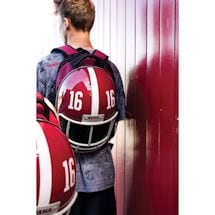 NCAA Football Helmet Backpack