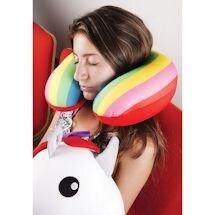 Unicorn/Rainbow Zip & Flip Pillow
