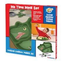 Children's Dinosaur Meal Set - Plate, Spoon & Fork