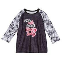 One Cat Short PJ Shirt