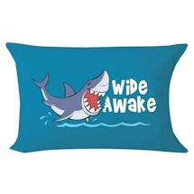 Wide Awake Shark Pillowcase