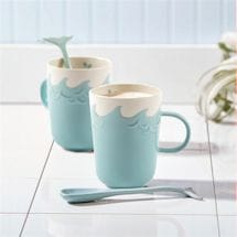 Splish Splash Whale Mug