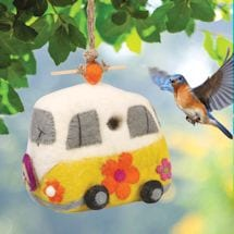 Magic Bus Felt Birdhouse