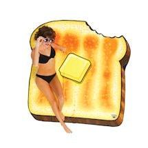 Buttered Toast Beach Blanket