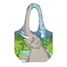 Animal-Handle Tote Bags
