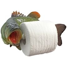Bass Toilet Paper Holder