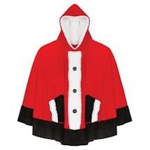 Hooded Santa Poncho