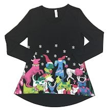 Dog Party Tunic Top